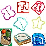 Zoomy far:Home Use Mini Kids DIY Sandh Toast Cutter Mold Bread Biscuit Cake Cookies Food Cutter Kicthen Tool : Star
