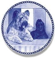 デンマーク製 ドッグ・プレート (犬の絵皿) 直輸入! Briard / ブリアード
