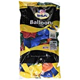 PIONEER BALLOON COMPANY Primary Assorted Outdoor Latex Balloon, 17, Multicolor by PIONEER BALLOON COMPANY