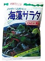 かんてんぱぱ 海藻サラダ こんにゃく寒天入り 30g(6~7人分)