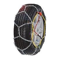 車のホイールタイヤスノーチェーン タイヤチェーン 高性能金属製ジャッキアップ不要取付簡単 コンパクト収納スピーディア 車の滑り止め緊急スノータイヤチェーン (Size : 195/60-14)