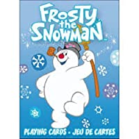 Frosty the Snowman Playing Cards by Aquarius