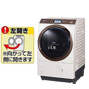 パナソニック 11.0kg ドラム式洗濯乾燥機【左開き】ノーブルシャンパンPanasonic エコナビ 温水泡洗浄 NA-VX9800L-N