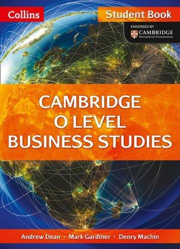 Collins Cambridge O Level – Cambridge O Level Business Studies Student Book