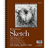Strathmore 22.9cm x 30.5cm Spiral Sketch Book, 100 Sheets