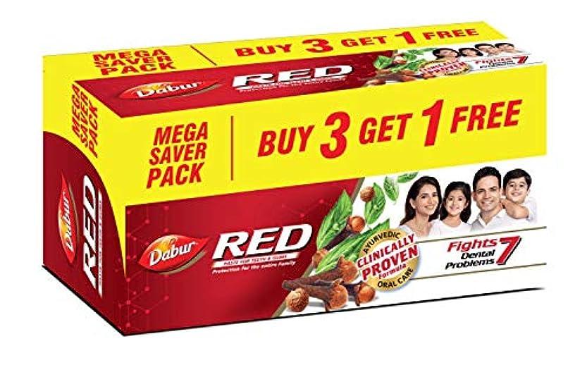 死の顎ドック読むDabur Red Paste - 150g (Buy 3 Get 1 Free)