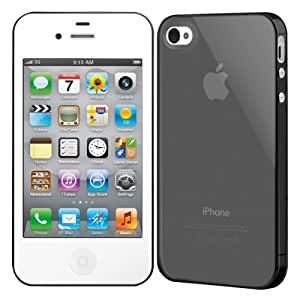SwitchEasy NUDE for iPhone4 Ultra Black SW-NUI4-UB