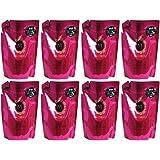 【まとめ買い】マシェリ エアフィール シャンプー 詰め替え用 (さらさら なめらか) 380ml【×8個】