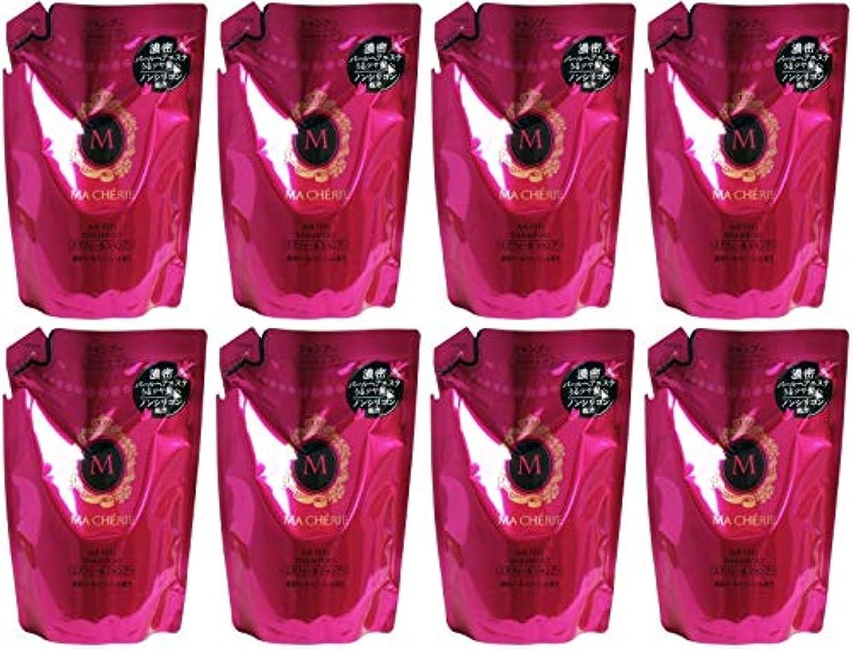 レンディション猟犬モック【まとめ買い】マシェリ エアフィール シャンプー 詰め替え用 (さらさら なめらか) 380ml【×8個】