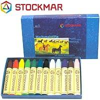 Stockmar(シュトックマー社) 蜜ろうクレヨン スティッククレヨン 12色 紙箱【ST31202】
