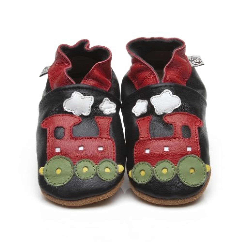 Soft Leather Baby Shoes Train [ソフトレザーベビーシューズトレイン] 3-4 years (16.5 cm)