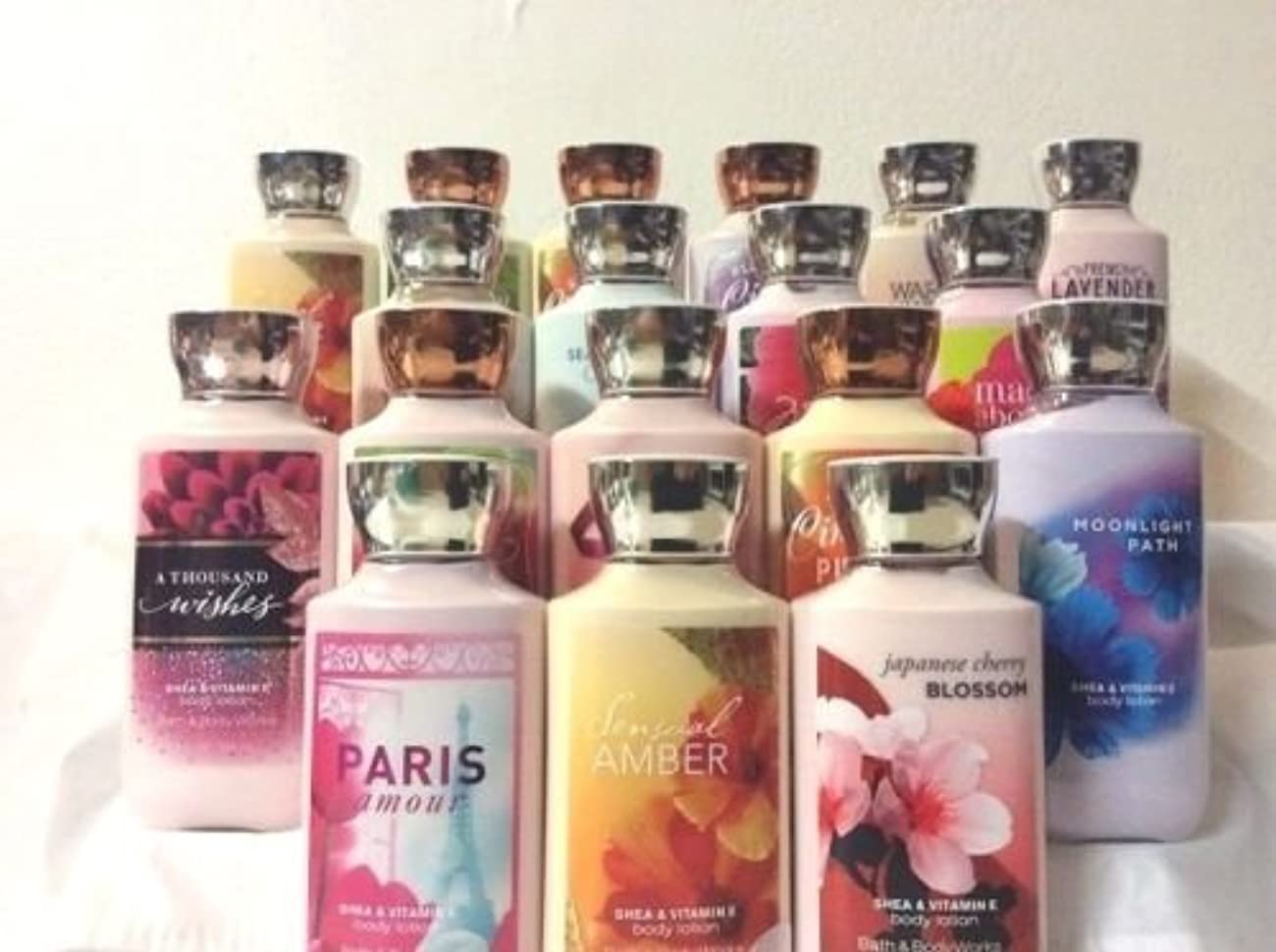 カップ飼いならす呼び起こすバスアンドボディワークス ボディローション 香りを選べる5本セット [並行輸入品]