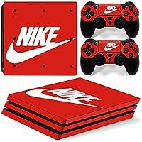 PS4 pro プロ 専用スキンシールΓスポーツ ナイキ Nike 」 本体用 + コントローラー用 × 2枚 ノーブランド 0401 [並行輸入品]