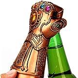 Six-Bullotime 栓抜き サノス Thanos 手袋 ビールオープナー インフィニティ ウォー ガントレット 瓶 蓋 オープナ 栓抜き器 アベンジャーズ 映画 グッズ 飾り キッチンの最高選択 キッチン レストラン 栓抜き