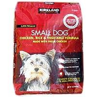 カークランドシグネチャー ドッグフード 小型犬用 チキン/ライス/ベジタブル 9.07kg