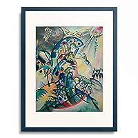 ワシリー・カンディンスキー Wassily Kandinsky (Vassily Kandinsky) 「Blue Arch」 額装アート作品
