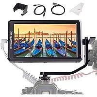 Feelworld F6 カメラ用液晶モニター 5.7インチIPS 超薄型 1920x1080 HD オンカメラ ビデオモニター 液晶フィールドモニター 4K HDMI信号出力 一眼レフ カメラ撮影確認用 【正規品 一年間保障 日本語説明書付き】