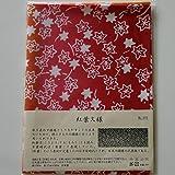 剣道屋 剣道 面手拭 (面タオル) 梨園染 手ぬぐい 紅葉紋様