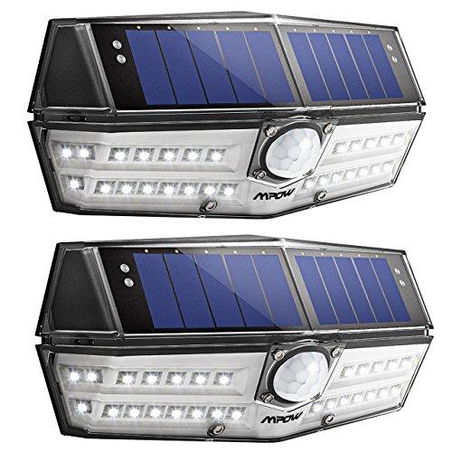 センサーライト ソーラーライト 屋外照明 人感ライト Mpo...