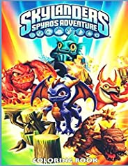 Skylanders Coloring Book: An Adult Coloring Book Featuring the Most Beautiful Skylanders Around the World for
