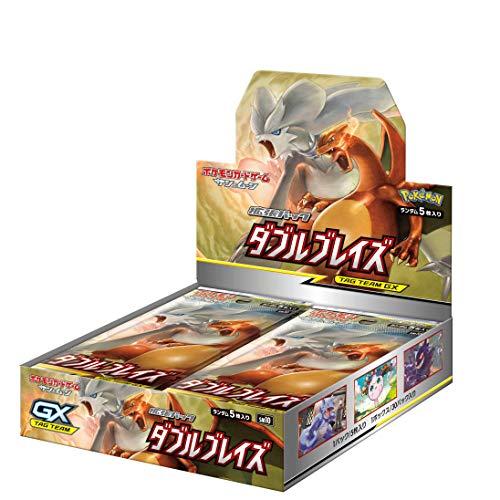 ポケモンカードゲーム サン&ムーン 拡張パック「 ダブルブレイズ」 BOX