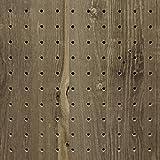 有孔ボード 木目調ヴィンテージブルー VB-2544-42(4x910×1830)穴径5ミリ穴ピッチ25ミリ