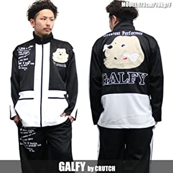 1880【GALFY/ガルフィー】 セットアップスーツ 黒×白 かわいい 人気キャラクター