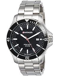 [ウェンガー]WENGER 腕時計 20気圧防水 ミリタリー デイト Sea Force 01.0641.118 メンズ 【正規輸入品】