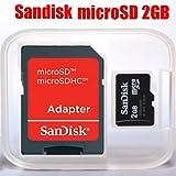 サンディスク 2GB microSDカード SDアダプタ付 バルク品
