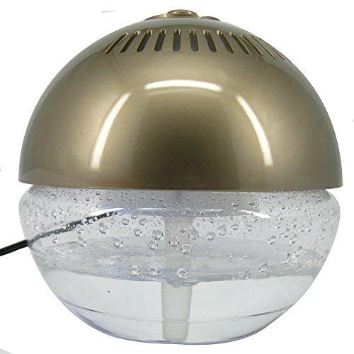 アロマで香る/水の力でキレイ/空気洗浄機/H2O/ゴールド...