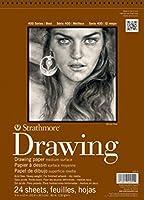 Strathmore STR-400-3 24 Sheet No.80 Drawing Pad 8 by 10 【Creative Arts】 [並行輸入品]