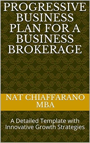 amazon progressive business plan for a business brokerage a