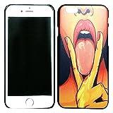 アディダス ジャケット (AFROMARKET) iPhone6 / 6s セクシーハードケース シェル型カバー ベロ出しピース