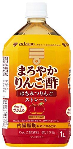 ミツカン まろやかりんご酢 はちみつりんご ストレート 1000ml