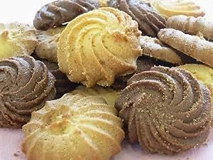 絞り クッキー チョコ バニラ レモン の3つのお味の詰め合わせ