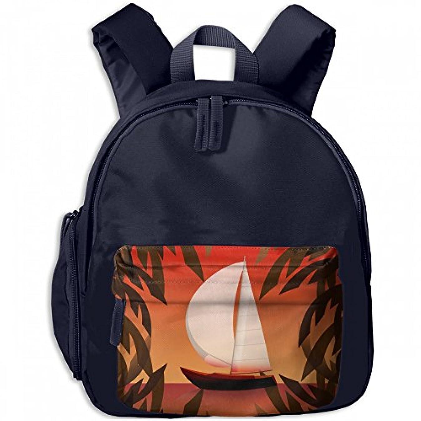 爆発する放射能美的夏 セーリング プリントアイデア デザイン おしゃれ 通気性 子ども 男の子 女の子 キッズ リュック 通学 ショルダーバッグ