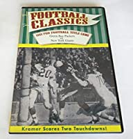 1961 Pro Football Title Game: Green Bay Packers vs. New York Giants (DVD 2008) [並行輸入品]