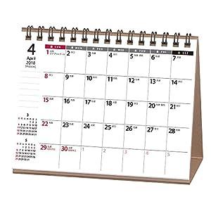 能率 NOLTY カレンダー 2018年 4月始まり 卓上35 A6 U229