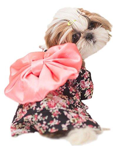 (ウレロ) urello ハレの日 犬 服 振袖 着物 浴衣...
