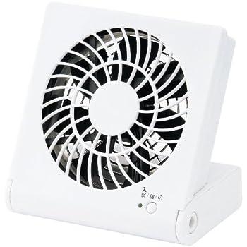 コンパクトデスク扇風機 ホワイト LPM-1081U(WH)