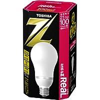 TOSHIBA ネオボールZリアル A形 100ワットタイプ 電球色 EFA25EL/21-R 口金直径26mm