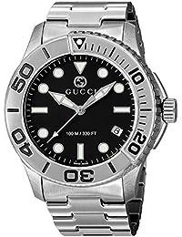 [グッチ]GUCCI 腕時計 ダイバー ブラック文字盤 YA126277 メンズ 【並行輸入品】