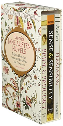 Favorite Jane Austen Novels: Pride and Prejudice, Sense and Sensibility and Persuasion (Complete and Unabridged) (Dover Thrift Editions)の詳細を見る