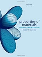Properties Of Materials: Anisotropy, Symmetry, Structure
