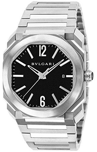 [ブルガリ]BVLGARI 腕時計 オクト ブラック文字盤 自動巻 100M防水 BGO41BSSD メンズ 【並行輸入品】
