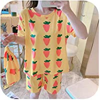 2020 Summer Pajamas Set Cute Christmas Print Long Sleeve Sleepwear Thin Soft Leisure Girl Nightgown Home Clothing M-2XL