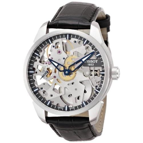 [ティソ]TISSOT 腕時計 T-Complication Squelette(ティー コンプリカシオン スケレッテ) T0704051641100 メンズ 【正規輸入品】