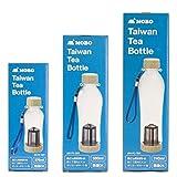 MOBO 台湾ボトル 「 Taiwan Tea Bottle 」 茶こし付きボトル 【 740ml 】 中国茶 ・ 緑茶 ・ 紅茶 などに 洗いやすい ・ 軽い ・ 割れにくい 台湾で人気のお茶用ボトル AM-PC-701