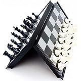 国際チェスセット チェスセット 折りたたみ式 マグネット式 木製標準チェスゲームボードセット 木製クラフトピースとチェスマンストレージスロット付き 持ち運び可能 31*31cm sdcvopl