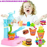 Sannysis スクイッシー おもちゃ アイスクリーム DIY スライム 粘土 知育玩具 特別なスライム おもちゃ ごっこ遊びセット おもちゃ